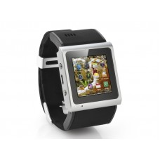 Android Watch  - 3G Dual Core 1GHz CPU, 3 Megapixel Camera (Black)