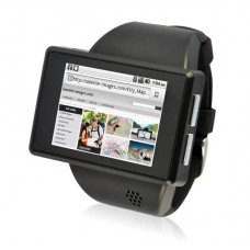 """Android Phone Watch """"Commander"""" 2 Inch Capacitive Screen, 8GB Micro SD, 2MP Camera"""