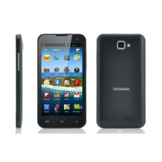 """Android 4.2 Phone """"HotWind"""" - 854X480 IPS 4.7 Inch Screen, MT6577 1GHz Dual Core CPU (Black)"""