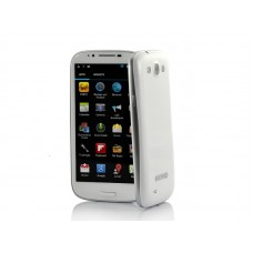 Android 4.2 Quad Core Phone 5.5 Inch Screen, 1.2GHz CPU, 3G, 1GB RAM, 8GB (White)