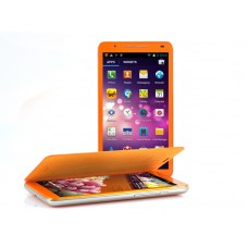Android 4.2 Phone 6 Inch Quad Core - 8 Megapixel Camera, 3G, 4GB Internal Memory (Orange)