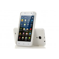 Quad Core 4.5 Inch Android 4.2 Phone - 1.2GHz, 4GB ROM, 8MP Rear Camera + 5MP Front-Facing Camera (White)