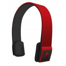 Bluetooth Headphone (wire/wireless) with Volume Gain Control Multiple Function (Gloss Red)